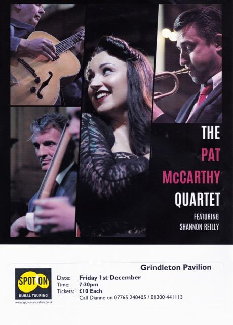 The Pat Mc Carthy Quartet